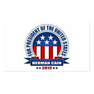 Herman Cain Business Card