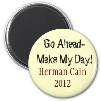 Herman Cain button Magnet