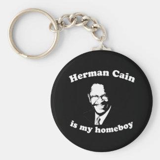 HERMAN CAÍN ES MI HOMEBOY LLAVERO REDONDO TIPO PIN