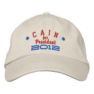 Herman Cain for President 2012 Cap