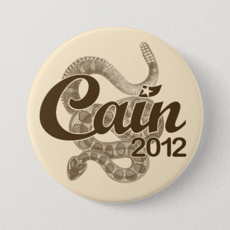 "Herman Cain for President 2012 DTOM ""Tea Button"" Pinback Button"