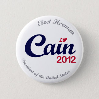 "Herman Cain for President 2012 ""Spirit"" Button 2.5"