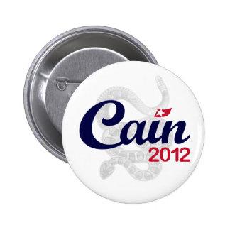 """Herman Cain for President 2012 """"Spirit DTOM"""" Buttn Pinback Button"""