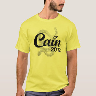 """Herman Cain for President 2012 """"Spirit DTOM"""" Tee"""