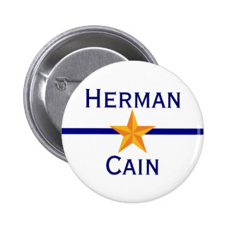 Herman Cain for President Pins
