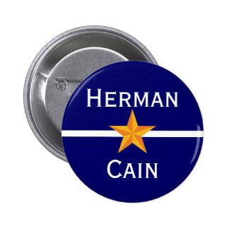 Herman Cain for President Pin