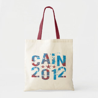 Herman Cain for President in 2012 Canvas Bag