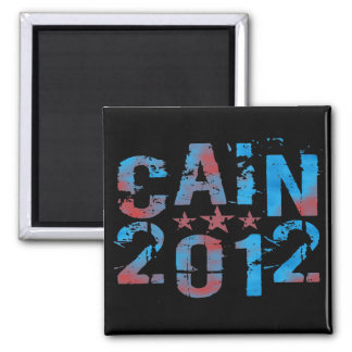 Herman Cain for President in 2012 Magnet