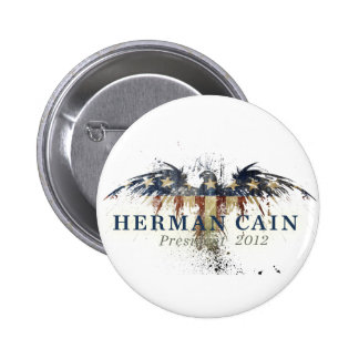 Herman Cain for President Pinback Button