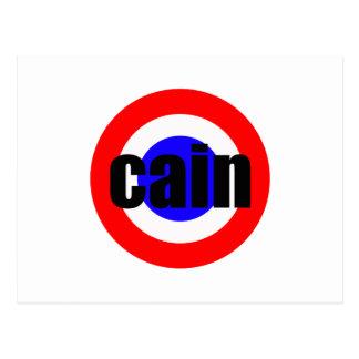 Herman Cain For President Postcard