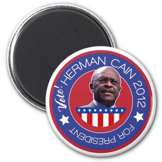 Herman Cain for US President 2012 Magnet