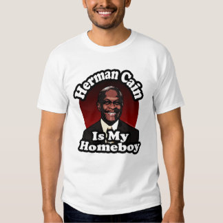 Herman Cain is My Homeboy, Retro Style Tees