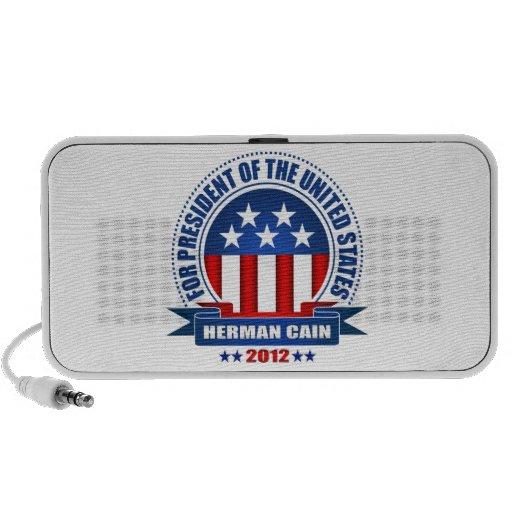 Herman Cain Notebook Speaker