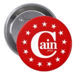 """Herman Caín para el presidente 2012 3"""" botón de la"""