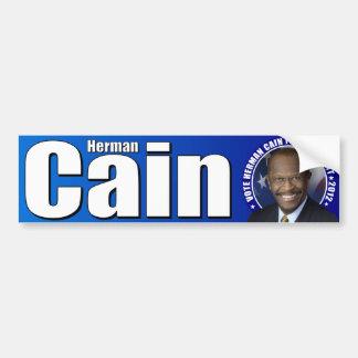 Herman Caín para el presidente Pegatina Para Auto