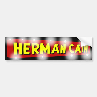 Herman Caín Pegatina Para Auto