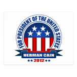 Herman Cain Post Cards