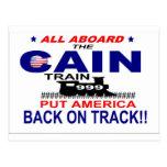 Herman Cain Postcard