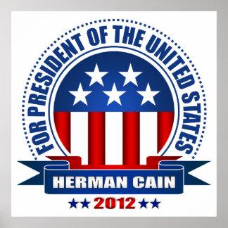 Herman Cain Posters