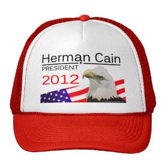 Herman Cain - President 2012 Hat