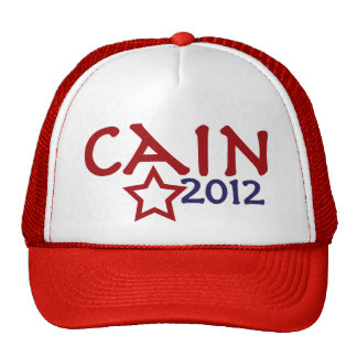 Herman Cain President 2012 Hat