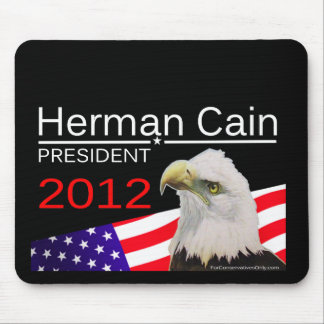 Herman Cain - President 2012 Mouse Pad