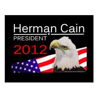Herman Cain - President 2012 Postcard