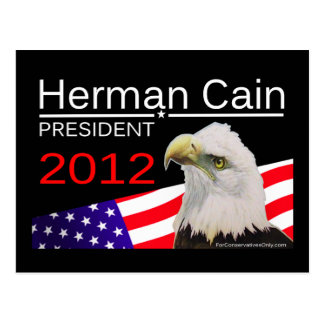 Herman Caín - presidente 2012 Postales