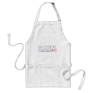 Herman Cain Presidential Candidate 2012 Adult Apron