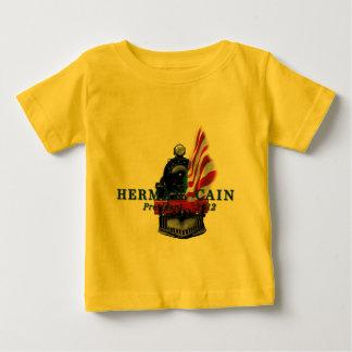 Herman Cain Train Baby T-Shirt