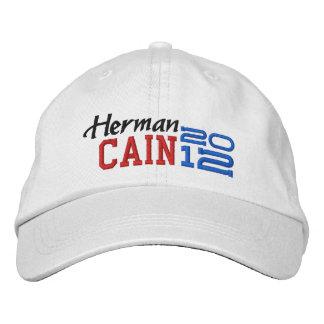 Herman Cain Twenty Twelve 2012 Embroidered Baseball Caps