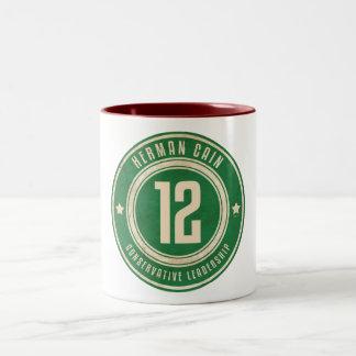 Herman Cain Two-Tone Coffee Mug