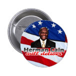 Herman Cain Will Deliver, Right-Wing Pizza Parody Pinback Buttons