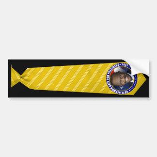 Herman Cain Yellow Tie President Bumper Sticker