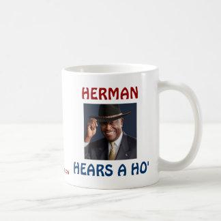 Herman Hears a Ho' Classic White Coffee Mug