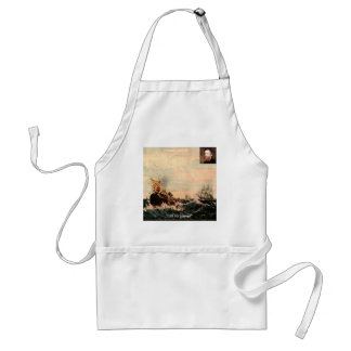 Herman Melville Call Me Ishmael Quote Apron