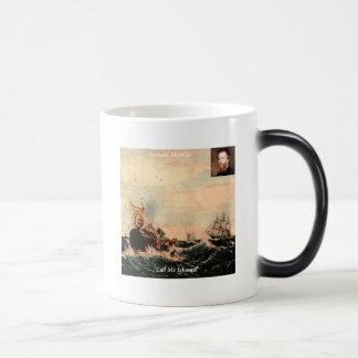 Herman Melville Call Me Ishmael Quote Magic Mug