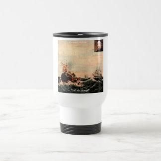 Herman Melville Call Me Ishmael Quote Travel Mug