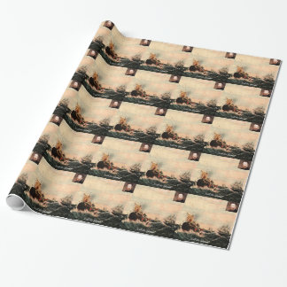 Herman Melville Call Me Ishmael Quote Wrapping Paper