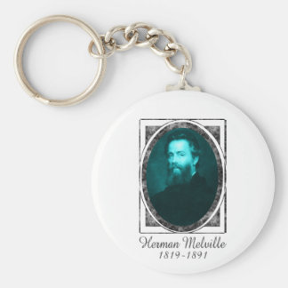 Herman Melville Key Chains