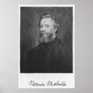 Herman Melville Large Art Print