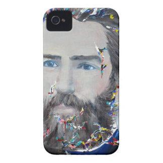 herman melville - oil portrait iPhone 4 cover