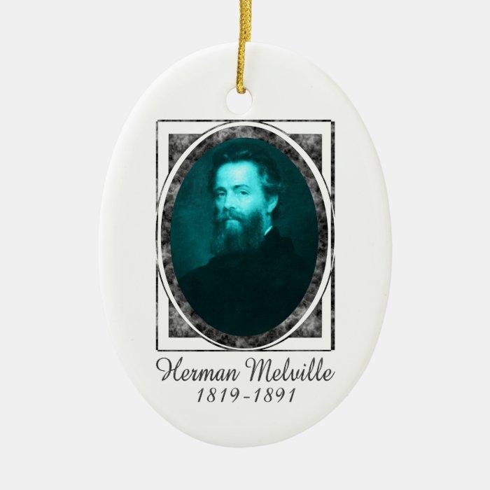 Herman Melville Ornament