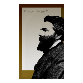 Herman Melville Póster