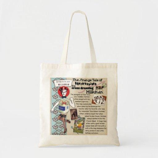 Herman the Cross-Dressing Milkman Tote Bag
