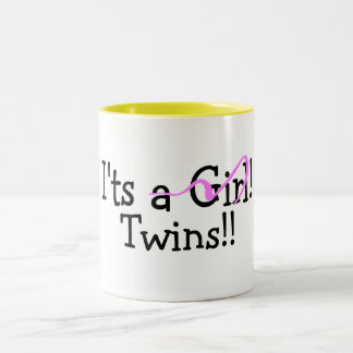 Hermana a gemelos del chica taza
