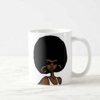 hermana afro taza