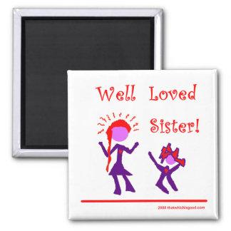 ¡Hermana amada pozo! Imanes Para Frigoríficos