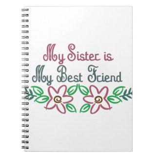 Hermana-Amigo Note Book