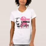 Hermana - cinta del cáncer de pecho camiseta